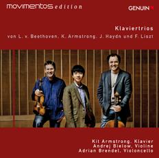 Klaviertrios on Genuin CD cover